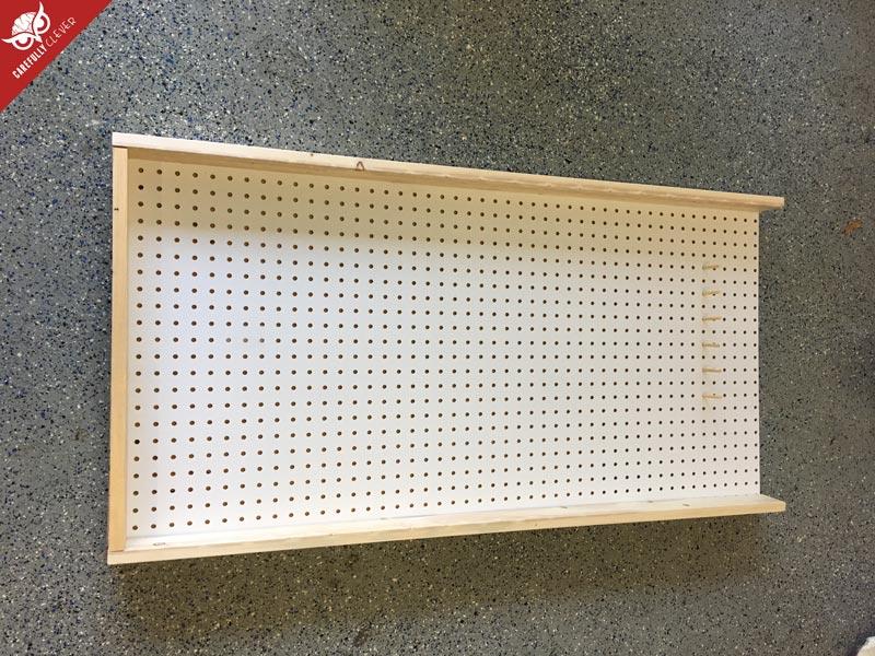 How to build a plinko board drinko carefully clever for Plinko board dimensions