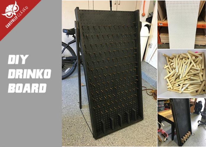 How To Build A Plinko Board Drinko Carefully Clever